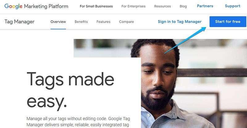 วิธีติดตั้ง Google Tag Manager บนเว็บไซต์ 1
