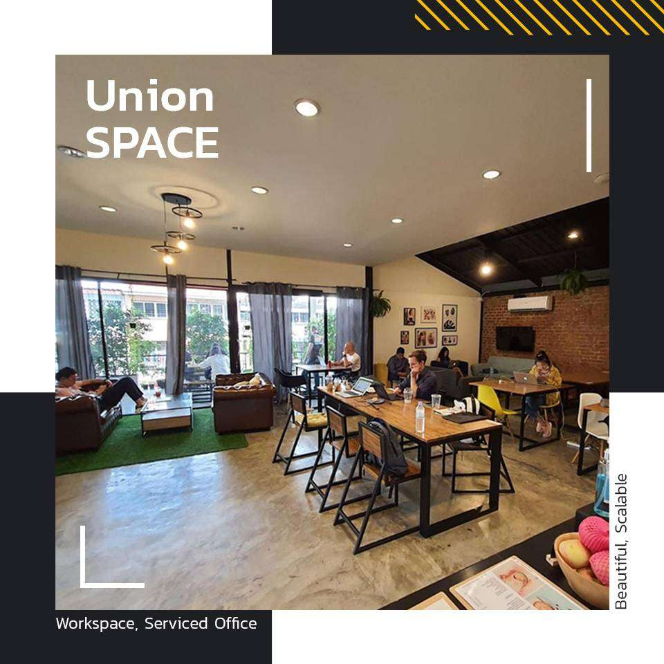 Bored working from home? Come to UnionSPACE. 2