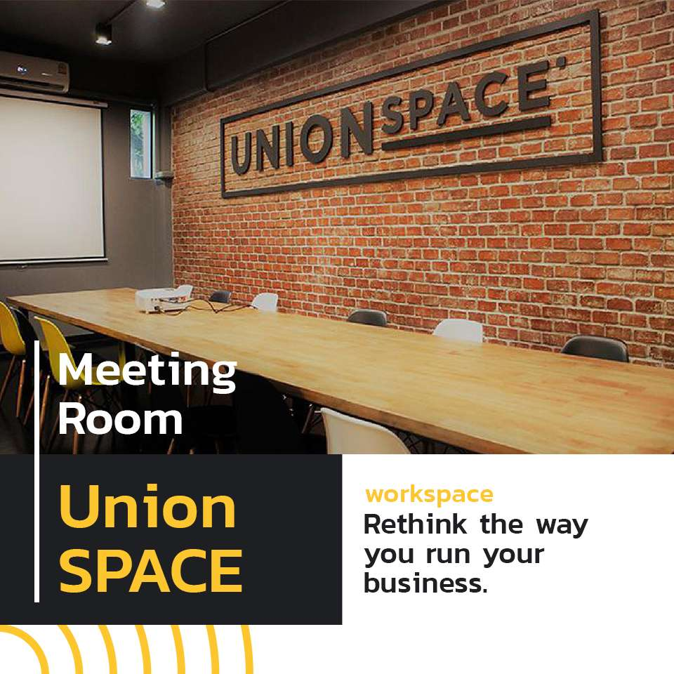Bored working from home? Come to UnionSPACE. 3